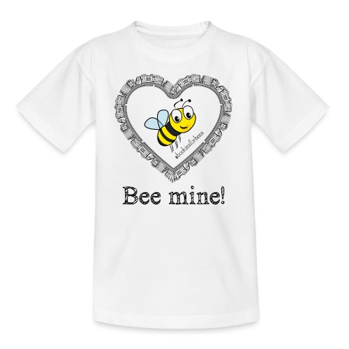 Bees3-1 save the bees | bee mine! - Kids' T-Shirt