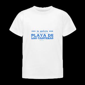 Te quiero Playa de Las Canteras - Camiseta niño