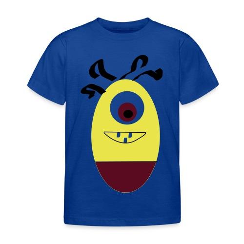 Gult æg - Børne-T-shirt