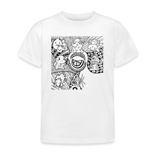 monstergrafiken tshirt - Kinder T-Shirt