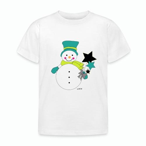 Snowtime-Green - Kinder T-Shirt