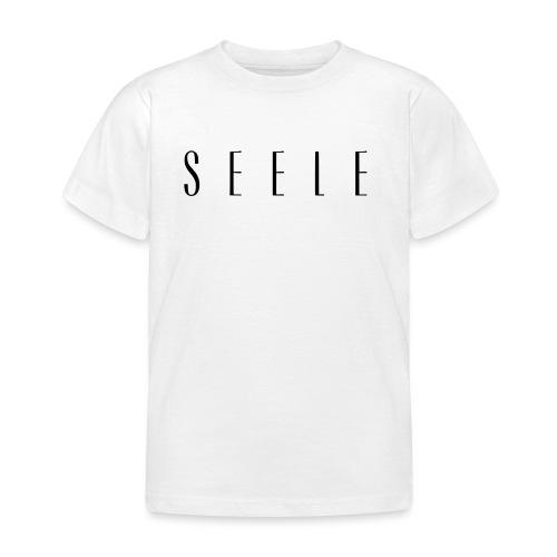 SEELE - Text Cap - Lasten t-paita