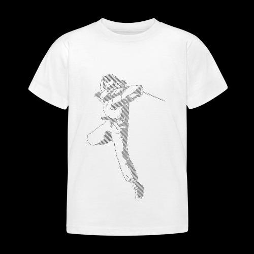 canniste lignes noir - T-shirt Enfant