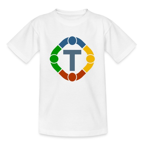 Tuvero-Logo transparent - Kinder T-Shirt