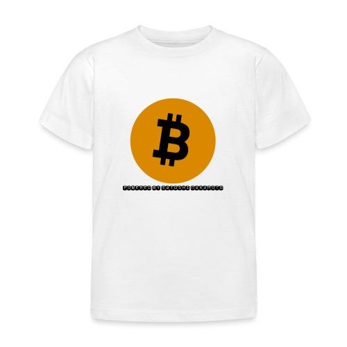 Bitcoin powered by Satoshi Nakamoto - Kinder T-Shirt