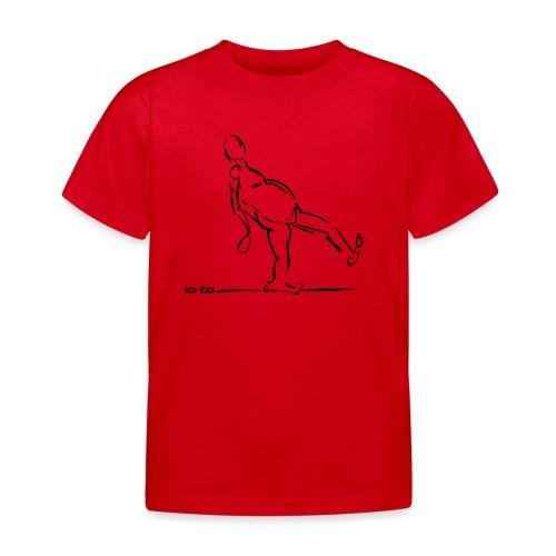 Lean Back Doodle - Kids' T-Shirt