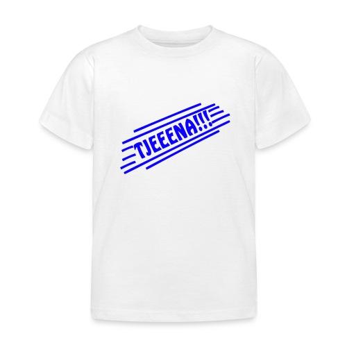 Tjena (Blue) - T-shirt barn