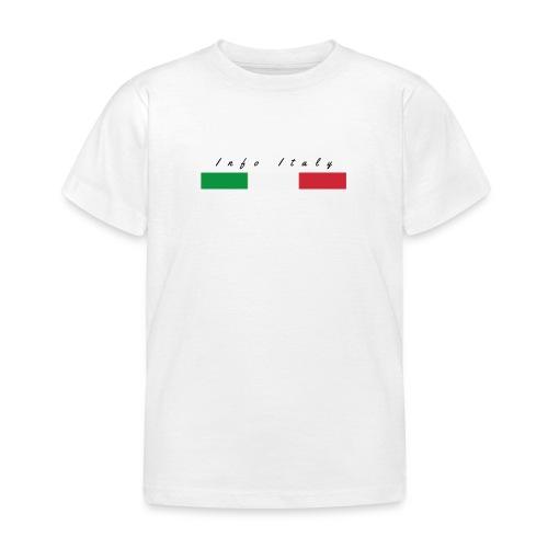 Info Italy Design - Maglietta per bambini