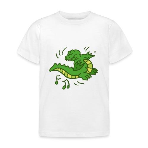 dancing crocodile - T-shirt barn