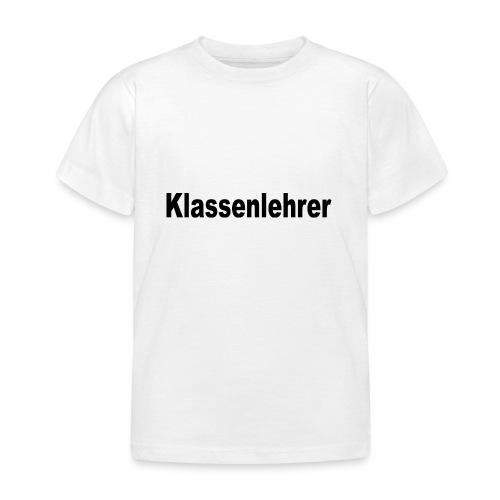 Lehrer Klassenlehrer Abi - Kinder T-Shirt