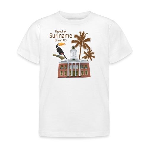 Gebouw Financiën - Kinderen T-shirt