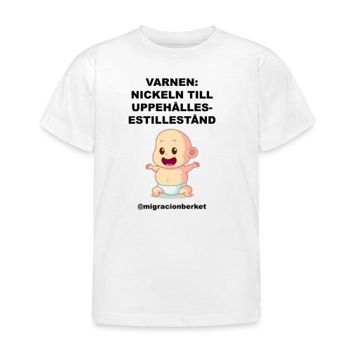 Nyckeln till uppehållstillstånd - T-shirt barn