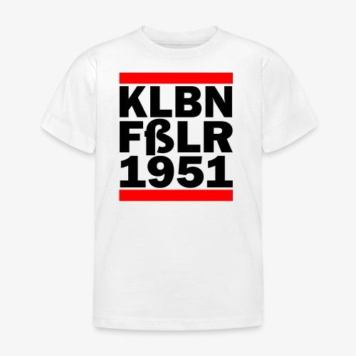 GUEST KLBNFßLER 1951 black - Kinder T-Shirt