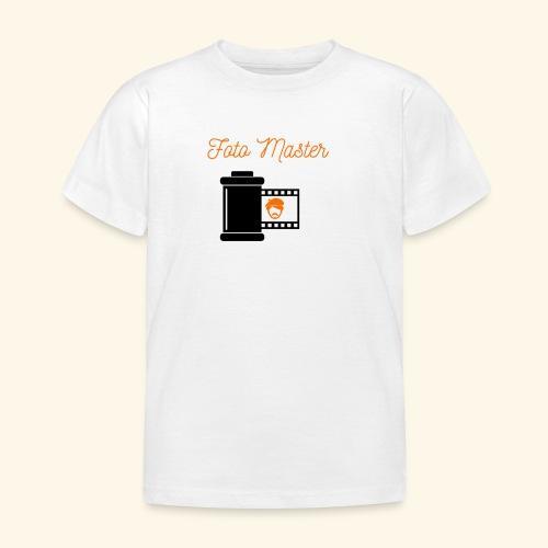 Foto Master - Børne-T-shirt