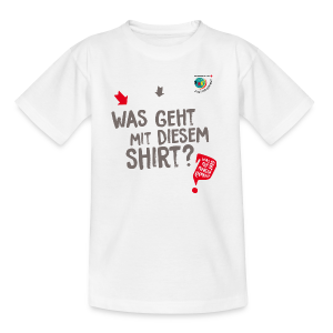 WAS GEHT? - Kinder T-Shirt