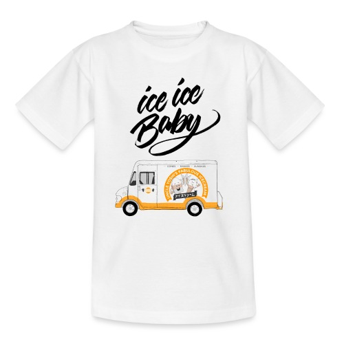Ice Truck – Ice Ice Baby - Kinder T-Shirt