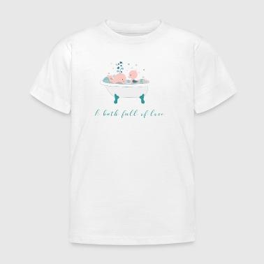 Bad af kærlighed - Børne-T-shirt