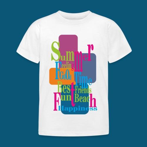 Summer Feeling.png - Kinder T-Shirt