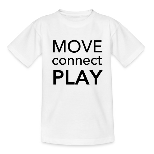Move Connect Play - AcroYoga International - Kids' T-Shirt