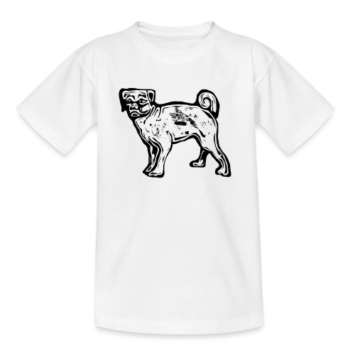 Pug Dog - Kids' T-Shirt