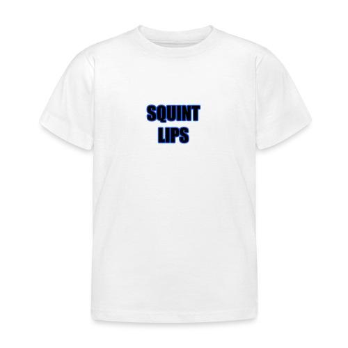 Squint Lips Merch - Kids' T-Shirt