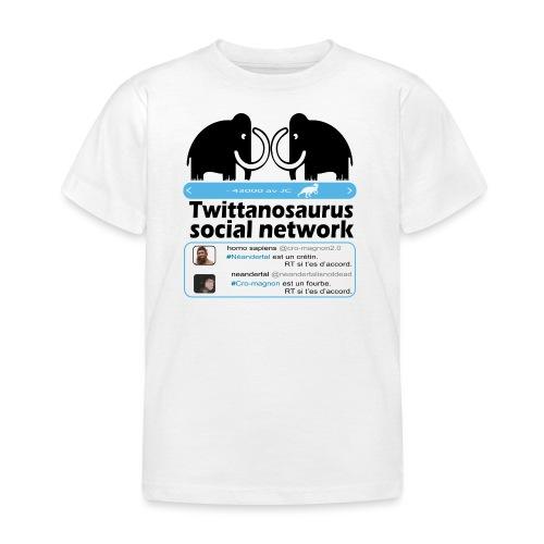 homo sapins versus neandertal - T-shirt Enfant