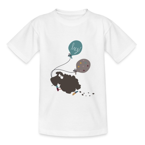 Schaf Elsbeth mit Luftballon - Kinder T-Shirt