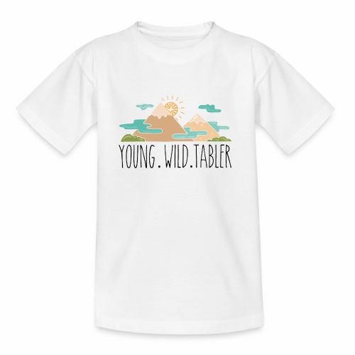 young.wild.tabler - Kinder T-Shirt
