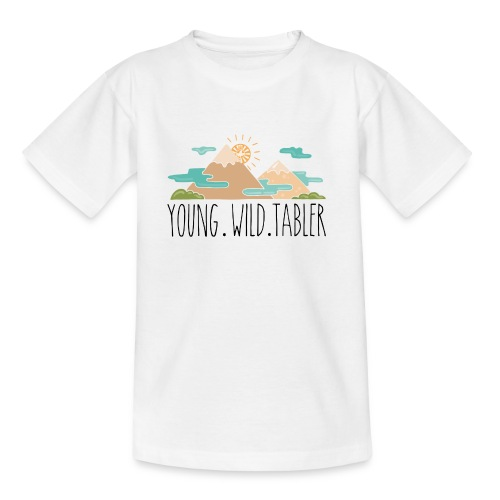 young.wild.tabler - Kinder T-Shirt