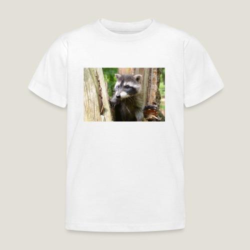 Junger Waschbär - Kinder T-Shirt