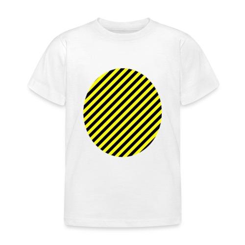 varninggulsvart - T-shirt barn