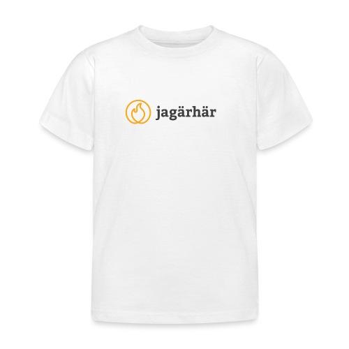 #jagärhär - T-shirt barn