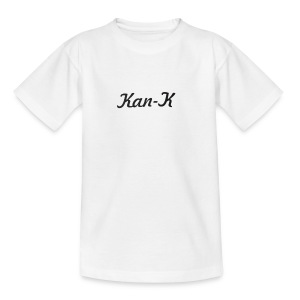 Kan-K text merch - Kids' T-Shirt