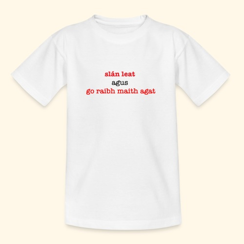 Good bye and thank you - Kids' T-Shirt