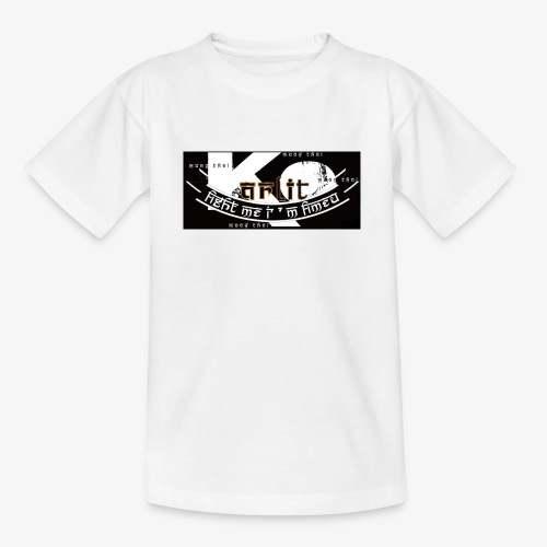 logo karlito black n gold - T-shirt Enfant