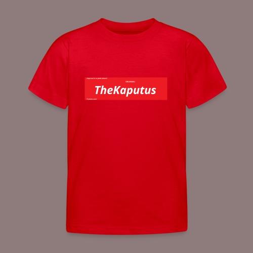 TheKaputus Merch - Lasten t-paita