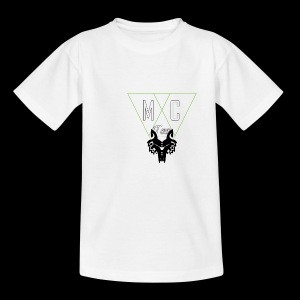 M C Tees NEW Logo on the NEW collection - Kids' T-Shirt