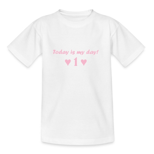 Birthday girl rosa - Kinder T-Shirt