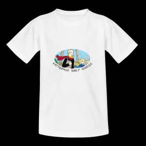 Fatherhood Badly Doodled - Kids' T-Shirt