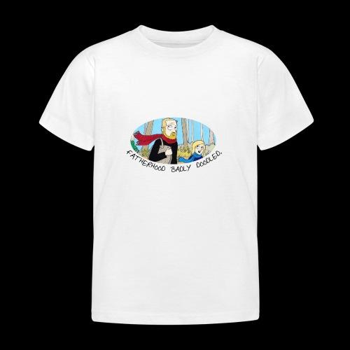 Fatherhood Badly Doodled - Kids' T-Shirt
