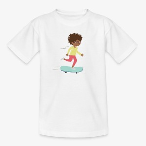 Skateboarder - Kinder T-Shirt