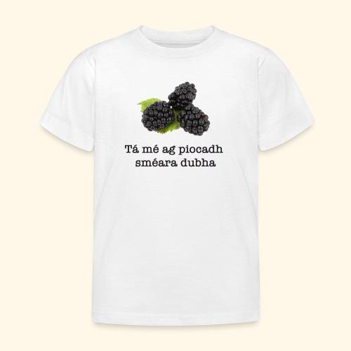 Picking blackberries - Kids' T-Shirt