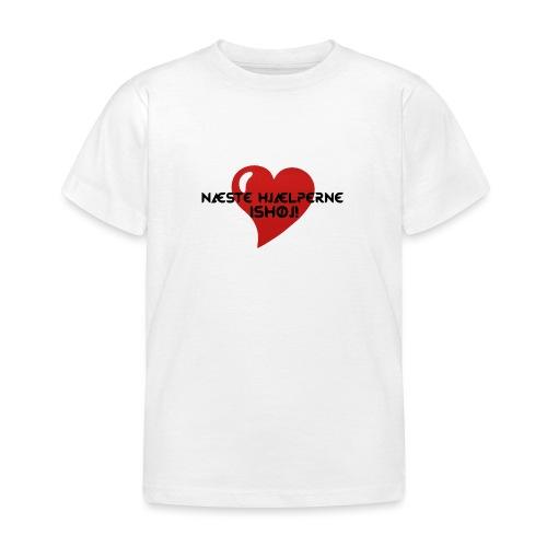 Næste-Hjælperne-Ishøj - Børne-T-shirt