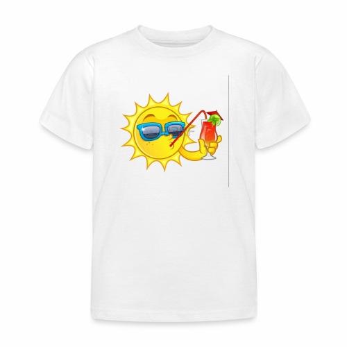 Soleil en vacance - T-shirt Enfant