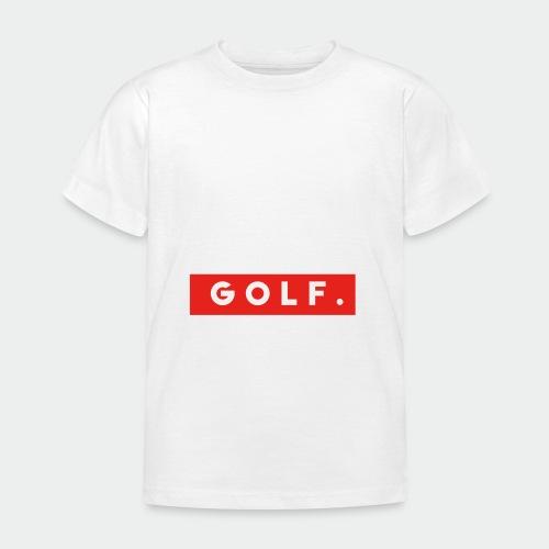GOLF. - T-shirt Enfant