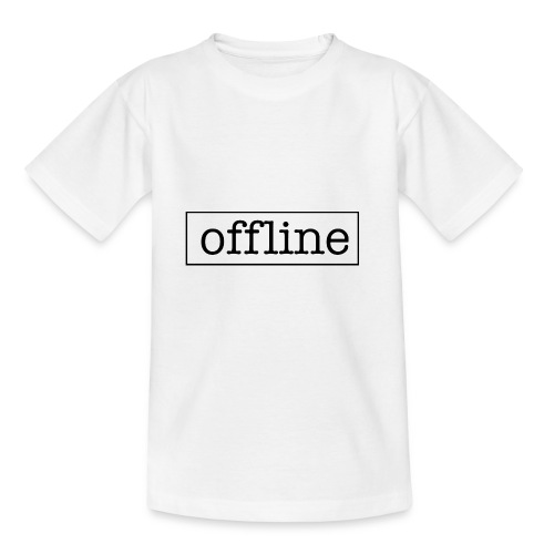 Officially offline - Kinderen T-shirt