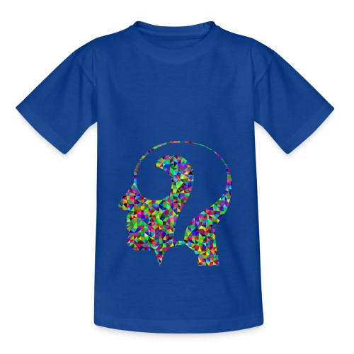 Fragender Kopf - Kinder T-Shirt