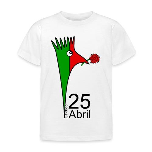 Galoloco - 25 Abril - T-shirt Enfant