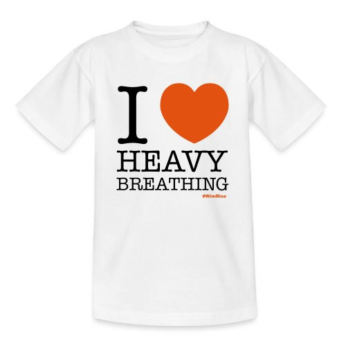 I ♥ Heavy Breathing - Kids' T-Shirt