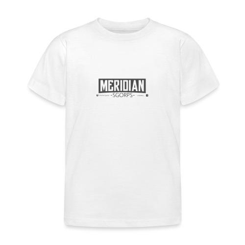 Sgorps Logo - Kinder T-Shirt